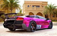 There is no shortage of custom Lamborghini paint jobs in the world. If the awesome car and roaring engine wasn't enough of a statement then this Pink finish certainly is. #spon - What do you think?