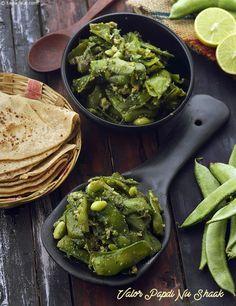 Oondhiya gujarati recipe rotlis vegetables recipes gujarati valor papdi nu shak winter sabzi forumfinder Gallery