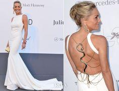 Sharon Stone In Roberto Cavalli – amfAR Cinema Against AIDS Gala