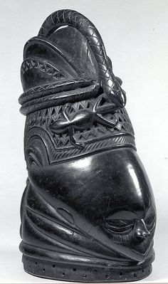 Helmet Mask, Sierra Leone, Mende People