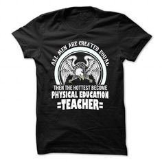 PE teacher HOTTEST MEN - #oversized shirt #cool tshirt. BUY-TODAY => https://www.sunfrog.com/Faith/PE-teacher-HOTTEST-MEN-Black-Guys.html?68278
