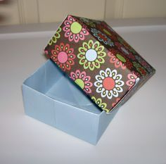Christensen Crafts and Such : How to make a paper box