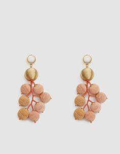 Meteor Earrings in Gold
