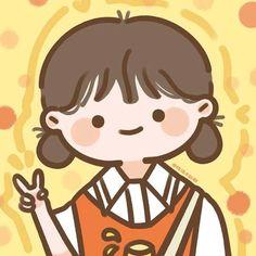 Cute Little Drawings, Cute Cartoon Drawings, Cartoon Art Styles, Cute Kawaii Drawings, Cute Pastel Wallpaper, Cute Anime Wallpaper, Cute Cartoon Wallpapers, Cartoon Girl Images, Girl Cartoon