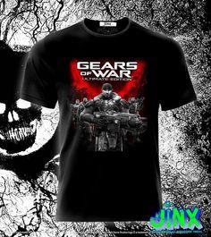 $179.00 Playera o Camiseta Gears Of Wars - Comprar en Jinx