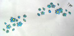 Forget Me Not Flower in Eternal love shape for a tattoo Nan Tattoo, Cool Tattoos, Tatoos, Forget Me Not Tattoo, Fingernails Painted, Love Shape, Flower Meanings, Tattoo Designs, Tattoo Ideas