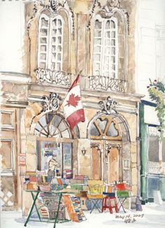 The Abbey Bookshop - Paris