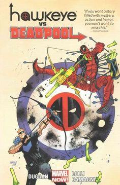 Marvel Hawkeye vs. Deadpool