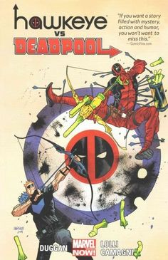 Marvel Hawkeye vs. Deadpool