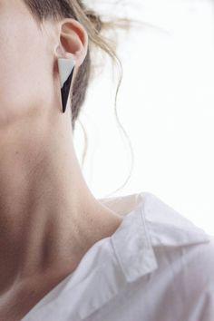 STUDIO GLINA porcelain earrings