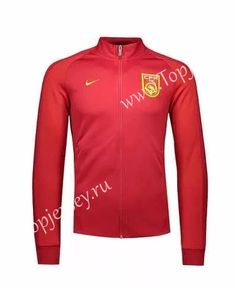 2016-17 China Red Thailand Soccer Jacket-China| topjersey