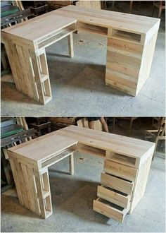 Attractive Wood Pallet Recycling Ideas: Observe on the display beneath and you will discover numerous thoughts of pallet furniture. Here are some wooden pallet reusing thoughts for all. Wood Pallet Recycling, Wooden Pallet Projects, Wooden Pallet Furniture, Recycled Pallets, Wooden Pallets, Diy Furniture, Pallet Wood, Diy Projects, Repurposed Furniture