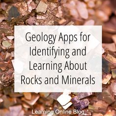 Do you have a rock hound in your family? These geology apps can help him recognize and learn about rocks and minerals. Minerals And Gemstones, Rocks And Minerals, Crystals Minerals, Rock Identification, Rock Hunting, Archaeological Discoveries, Cool Rocks, Educational Websites, Rocks And Gems