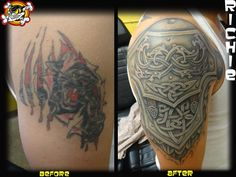 Richie pulled off another amazing cover up! Check it out!