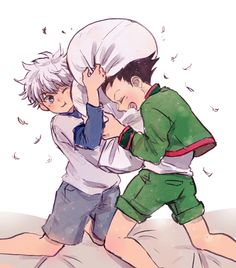 Hunter x Hunter | hxh | Gon Freecss | Killua Zoldyck | Anime