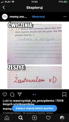 Funny Lyrics, Funny Quotes, Polish Memes, Weekend Humor, Best Memes Ever, Funny Mems, Some Quotes, Wtf Funny, Haha