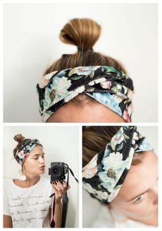 Tutorial von Jojolino: Haarband mit Drehung - nähRatgeber