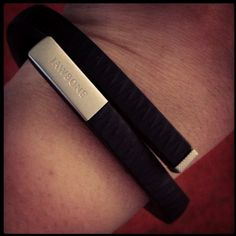 """""""Resolving to get in shape for the new year. Xmas present to me: Jawbone UP!"""" - Velvetica"""