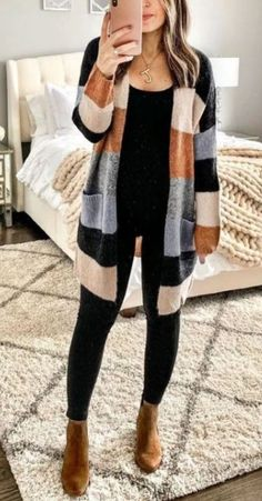 40+ Magnificient Fall Outfits Ideas That Trend In 2019 cozyfalloutfits #falldres... - #cozyfalloutfits #fall #falldres #Ideas #magnificient #Outfits #trend Winter Outfits Women, Casual Fall Outfits, Trendy Outfits, Casual Winter, Women's Casual, Summer Outfits, Dresses For Winter, Fall Dress Outfits, Work Outfits