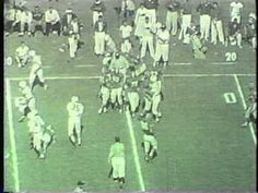 Oklahoma Sooners vs. Texas - 1955
