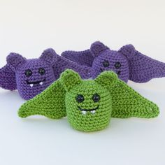 The Itsy Bitsy Spider Crochet: The Batties Are Here!
