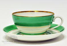 Nora Guldbrandsen for Porsgrund porselen Tea Cups, Art Deco, Tableware, Dinnerware, Tablewares, Dishes, Place Settings, Cup Of Tea, Art Decor