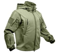 OD Green Tactical Soft Shell Jacket