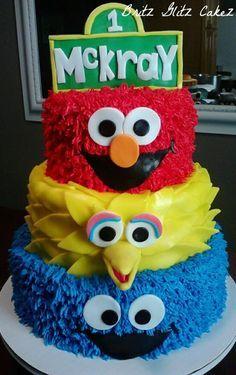 elmo cake for boy - Google Search