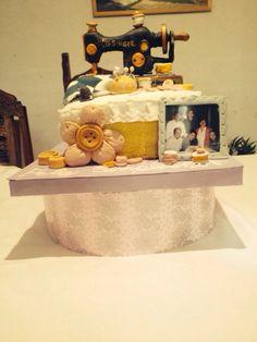 Cake maquina de coser