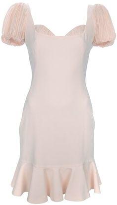 ALEXANDER MCQUEEN Ruffle Sleeve Dress   dressmesweetiedarling
