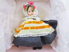 "Vintage Madame Alexander 8"" Doll with Original Box #0765 GREECE"