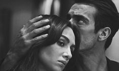 Discovered by Ivan Jankovic. Find images and videos about siyah beyaz ask, İbrahim Çelikkol and birce akalay on We Heart It - the app to get lost in what you love. Black And White Couples, Black And White Love, Cute Couples Goals, Couples In Love, Tv Couples, Best Friend Pictures, Couple Pictures, Anxiety Aesthetic, Famous In Love