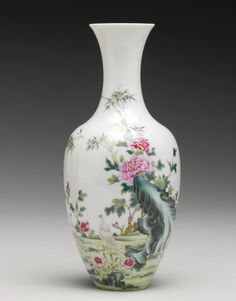 A FAMILLE-ROSE 'DOVES' VASE<br>REPUBLICAN PERIOD | lot | Sotheby's
