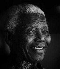 Nelson Mandela.   July 18, 1918 - December 5, 2013.  Thank you. #Madiba