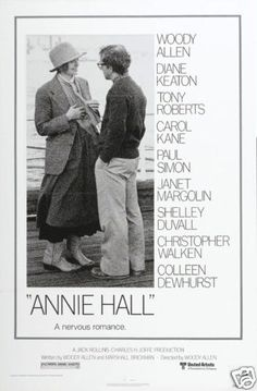 Did I like Annie Hall? Maybe. I couldn't get myself to decide. Well, I mean it had its moments but otherwise most of it was just verbose. And well, who likes verbose? On the other hand, it was Woody Allen and the lines were all poignant. Day 27: Annie Hall ('77)