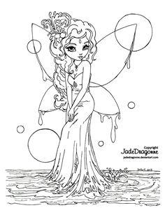 deviantart fairies to coloring - Pesquisa Google