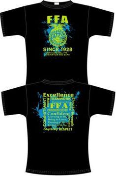 Ffa on pinterest ffa national convention and shirt ideas for Ffa t shirt design