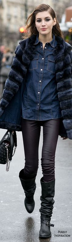 Street Style Women's Fashion | Purely Inspiration