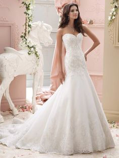 Brautkleider im gehobenen Preissegment | miss solution Bildergalerie - Modell Chianna by DAVID TUTERA