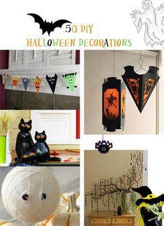#Halloween 50 DIY Halloween decor ideas
