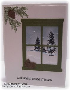 Let It Snow! by FireFly61 - Cards and Paper Crafts at Splitcoaststampers
