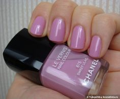 Chanel le vernis nail colour №615 Sweet lilac — Отзывы о косметике — Косметиста