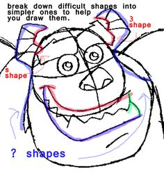 Step step 0614 How to Draw Sulley from Monsters Inc. with Easy Step by Step Drawing Tutorial