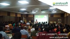 """Amitysoft in association with and Chennai Professional Chapter successfully conducted a Mini Tutorial on """"Demystifying Data Analytics"""" at on Data Analytics, Big Data, Chennai, Conference, Workshop, Engineering, College, Train, Mini"""