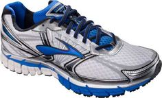 (33% Off) Men's Brooks Adrenaline GTS 14 Running Shoe – White/Electric/Silver Running Shoes  http://www.myrunningdeals.com/shop/men/mens-brooks-adrenaline-gts-14-running-shoe-whiteelectricsilver-running-shoes