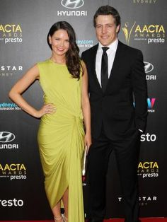 Steve Peacocke and his wife Bridgette Sneddon at the 5th Annual AACTA Awards Ceremony.