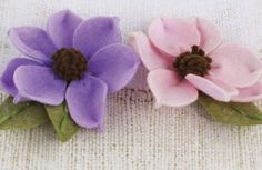 All the felt flowers are gorgeous, Sassy is of the prettier ones (along with Cascade) :)