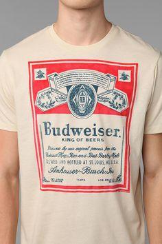 Junk Food Budweiser Tee $14.99
