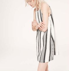 LOU & GREY CABANA STRIPE DRESS