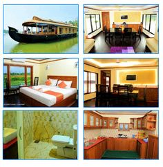 Plan your holidays in beautiful backwaters of Kerala and enjoy vacations in deluxe houseboats. Premium luxury house boats provided by Pearl Spot Tours are full of luxury facilities with 1 to 10 bedrooms. Luxury Houseboats, Kerala, Vacations, Bedrooms, Tours, Packaging, Holidays, Mansions, House Styles